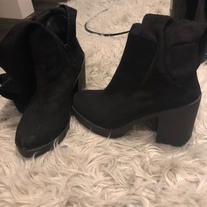 ASOS size 7 thigh high boots